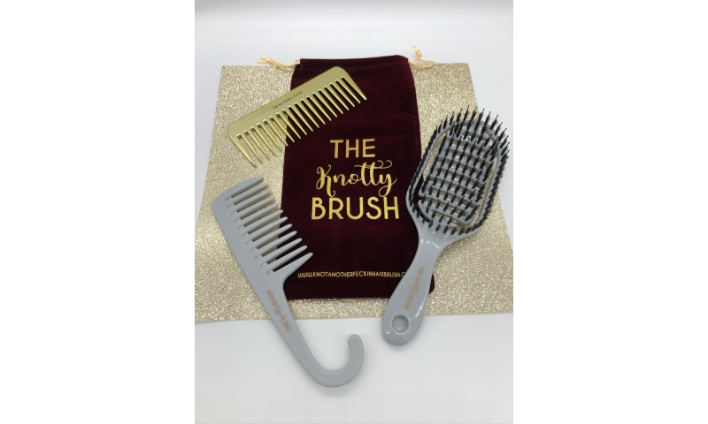 KNOTTY BRUSH TRIO